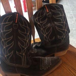 Rocketdog Brown suede boots good condition